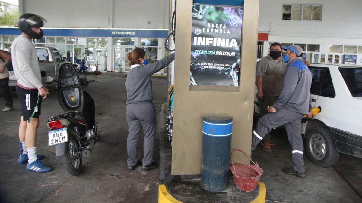 Los combustibles de YPF tienen nuevos valores.