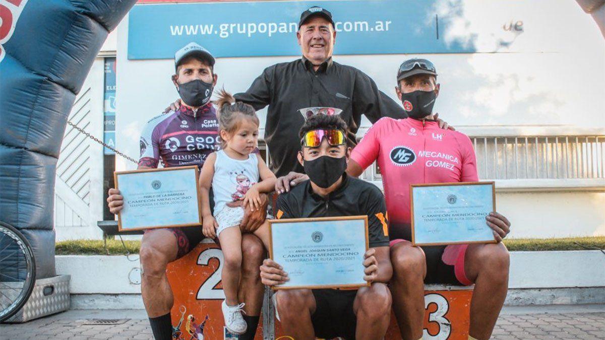 Agustín Suárez ganó la Vuelta del Este y De la Barrera es el campeón