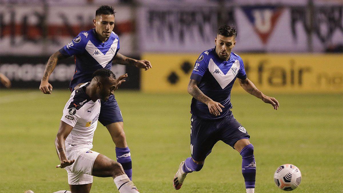 Vélez cayó ante Liga de Quito, en Ecuador
