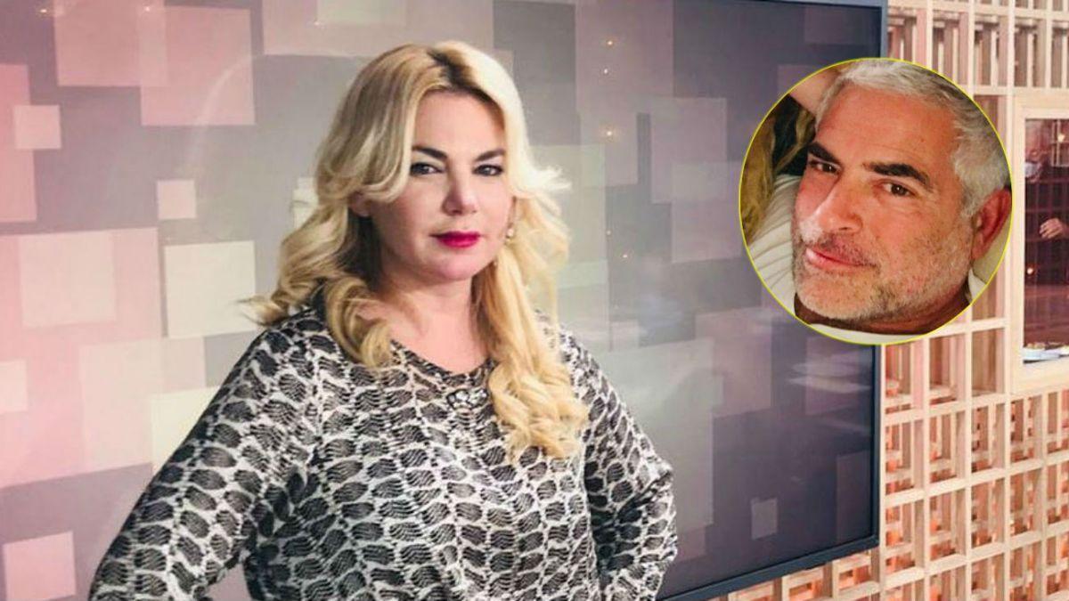 El escandaloso video de Esmeralda Mitre intentando ingresar a la casa de su ex por la terraza