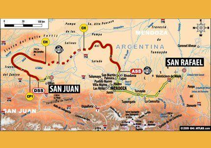 Rally Dakar: una multitud ya se reunió en San Martín
