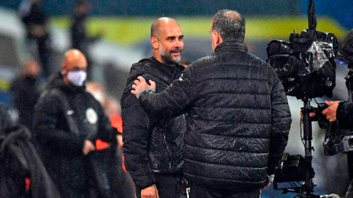 Bielsa y Guardiola cruzaron elogios antes de enfrentarse