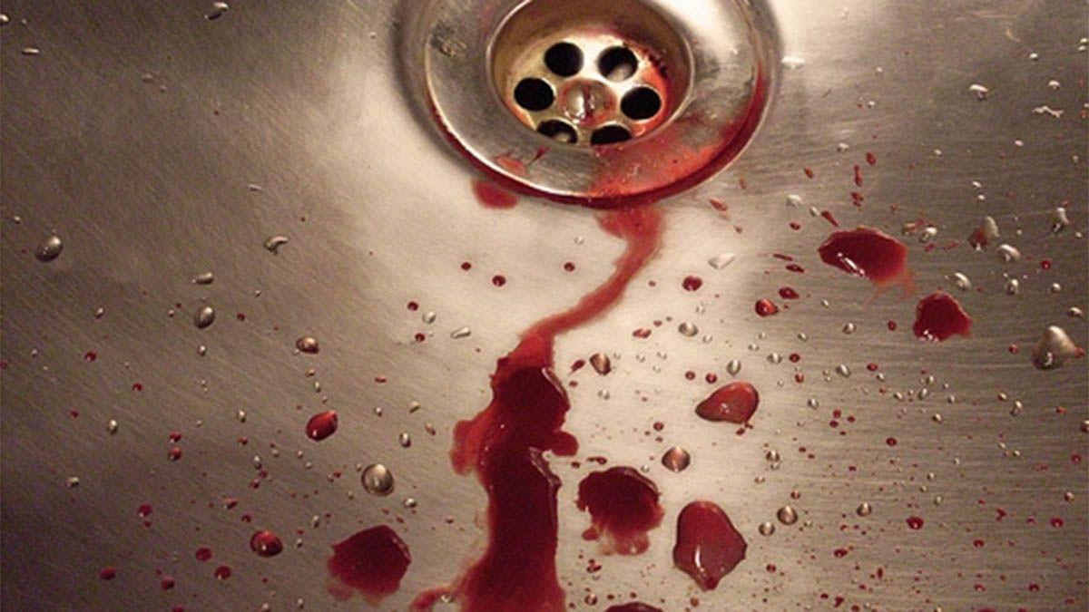 Abrió la canilla del agua y salía sangre. Había una rata