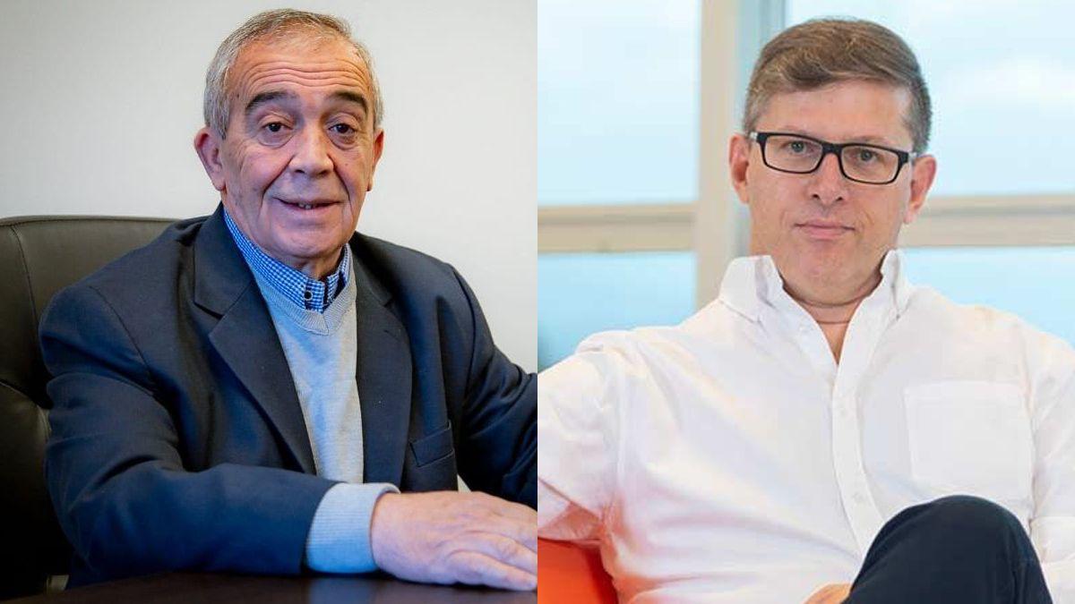 Roberto Ajo y Guillermo Mosso.