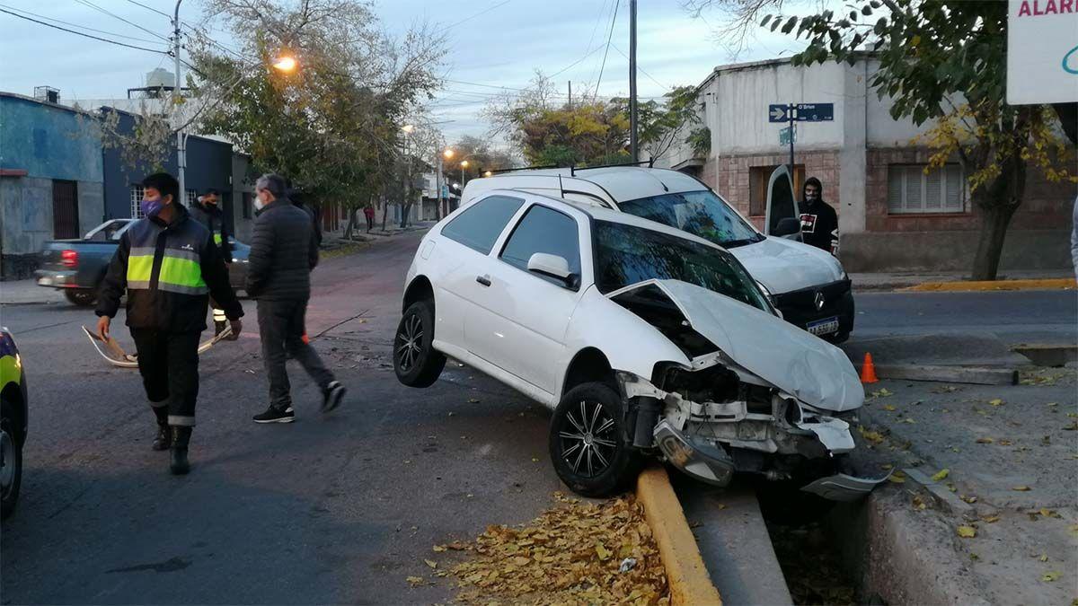 Un grave accidente en Guaymallén pudo haber terminado en tragedia