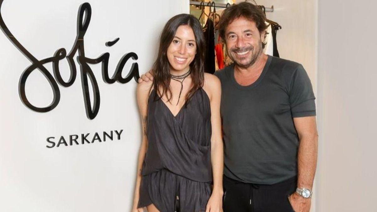 Ricky Sarkany subió un emocionante posteo para su hija Sofía.