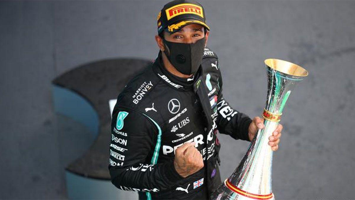 Hamilton, el mejor deportista del 2020 para Francia