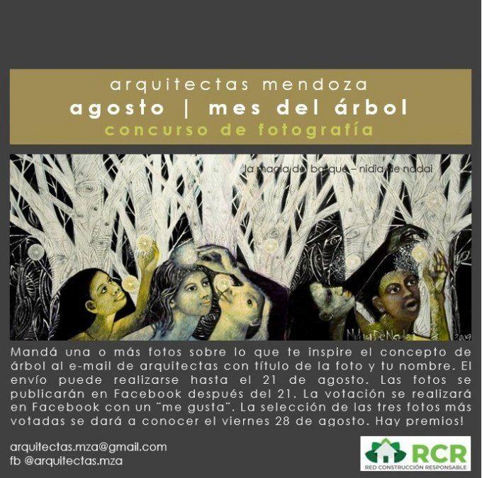 Últimos días para participar del concurso fotográfico de Arquitectas Mendoza