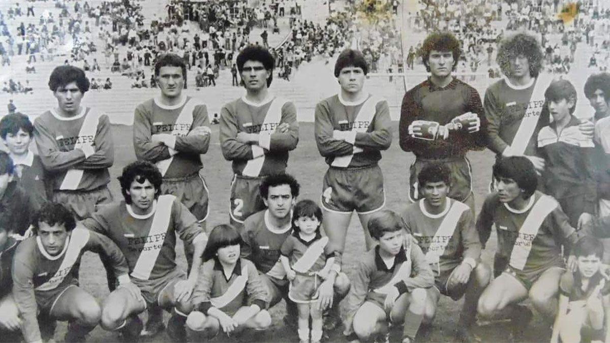 Este es el equipo que integró Corró