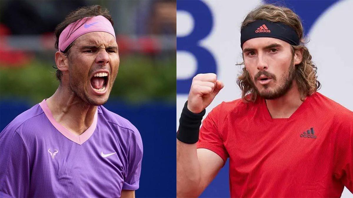 Nadal y Tsitsipas jugarán la final del ATP de Barcelona