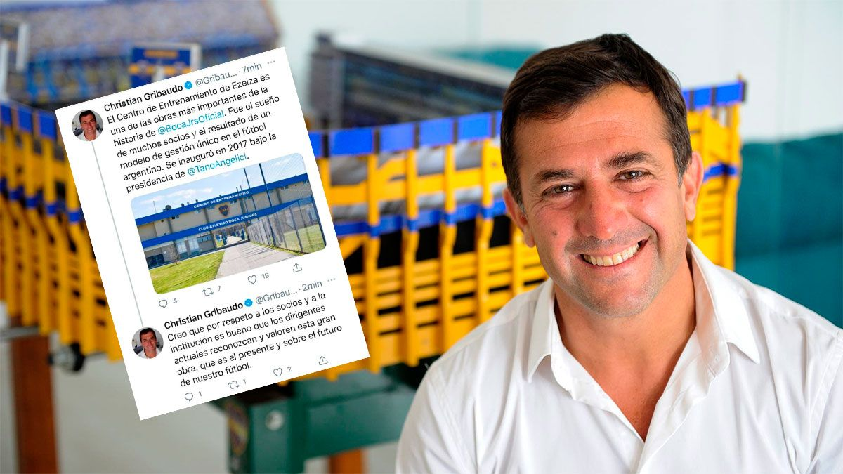 Boca: Christian Gribaudo le respondió con dureza a Riquelme