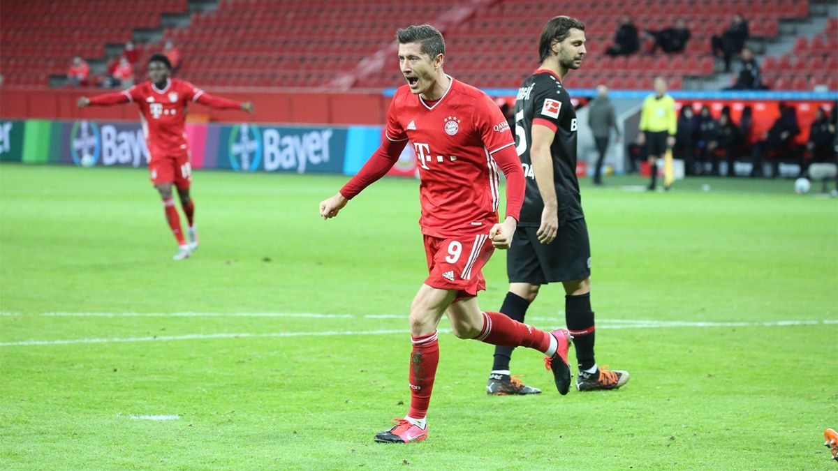 Lewandowski cerró una semana soñada