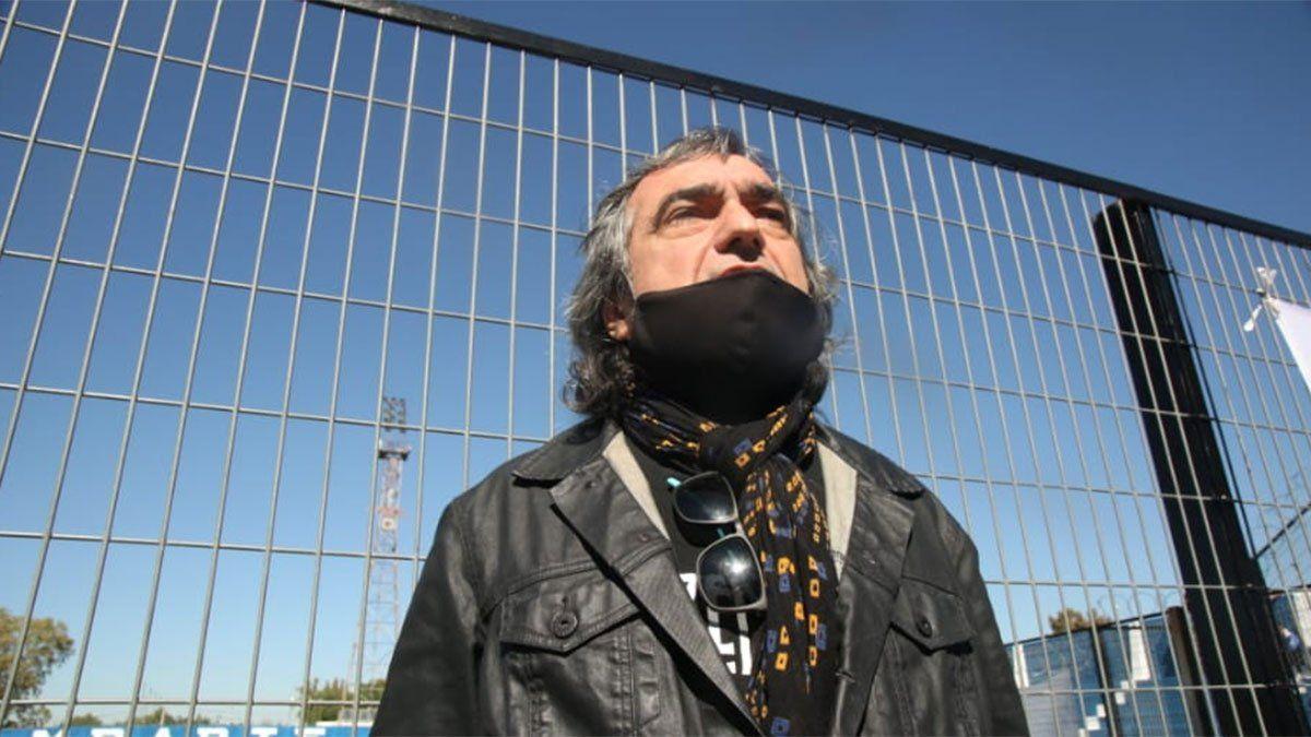 El músico Marcelo López, emocionado por la vuelta del Tomba al Gambarte