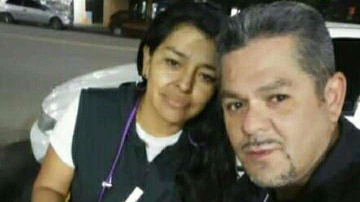 Adela Rodríguez y Cristian Ivars, las víctimas fatales.