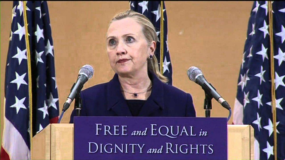 Hillary Clinton destacó a Argentina y su protección de los derechos del LGBT