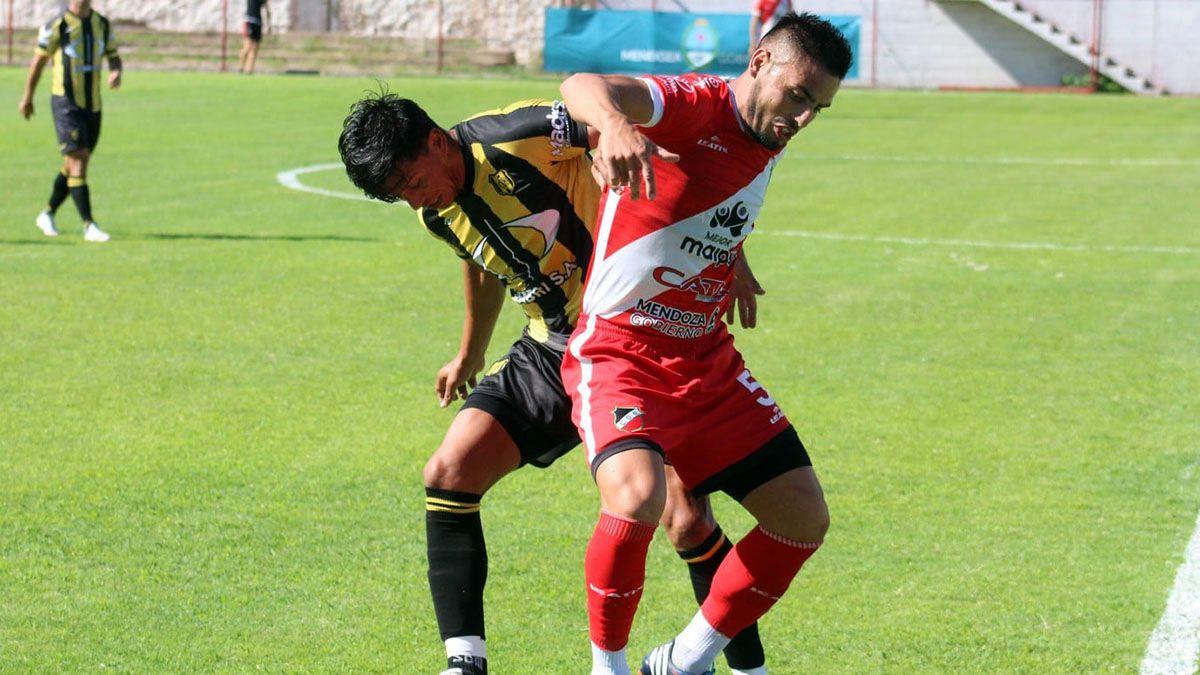 El volante Luis Daher está confiado en lograr la clasificación. (Fotos: gentileza Prensa Deportivo Maipú).