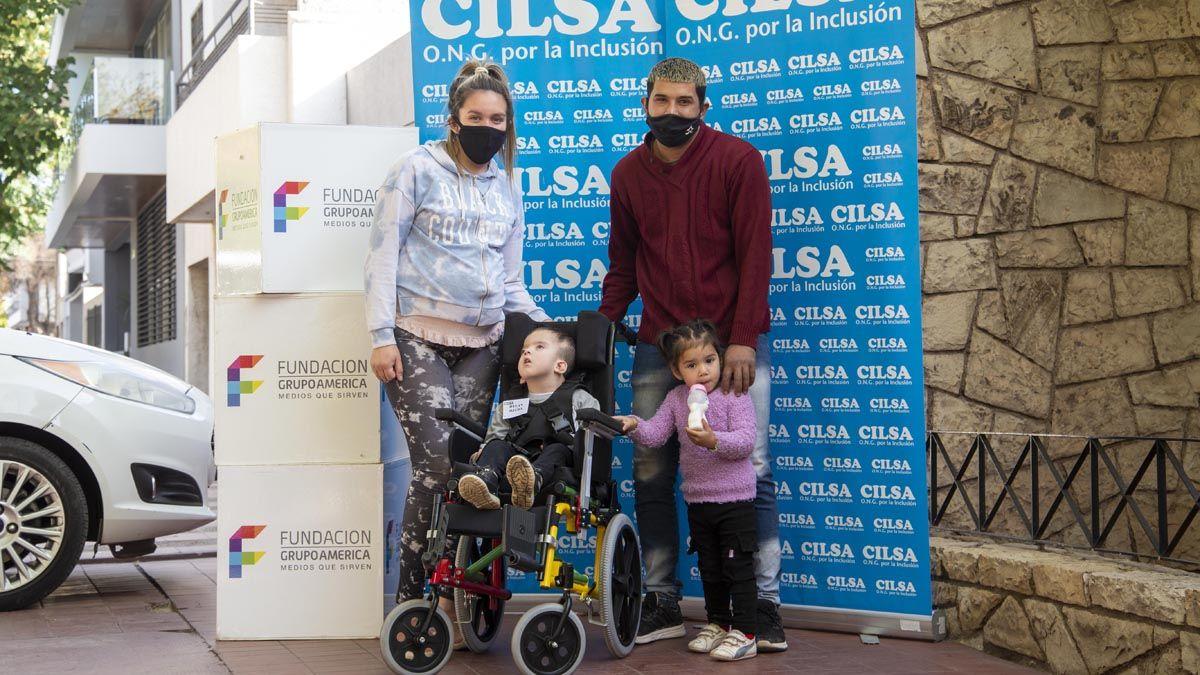 Nueva entrega elementos ortopédicos para personas con discapacidad