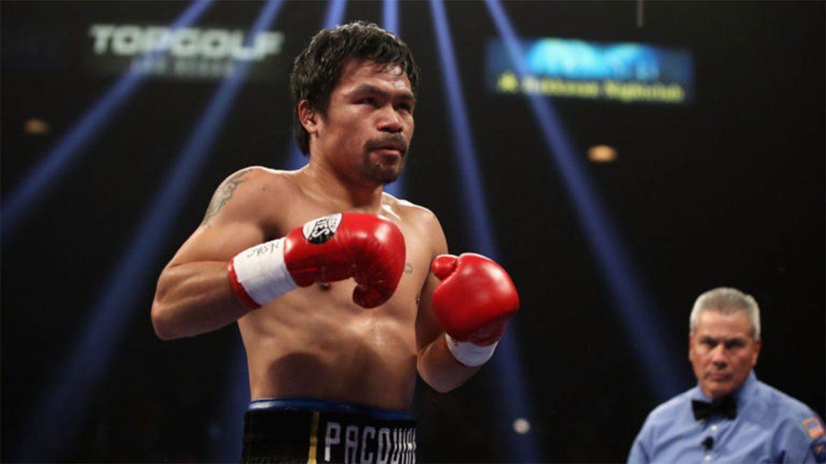 Manny Pacquiao volverá a pelear a  los 42 años