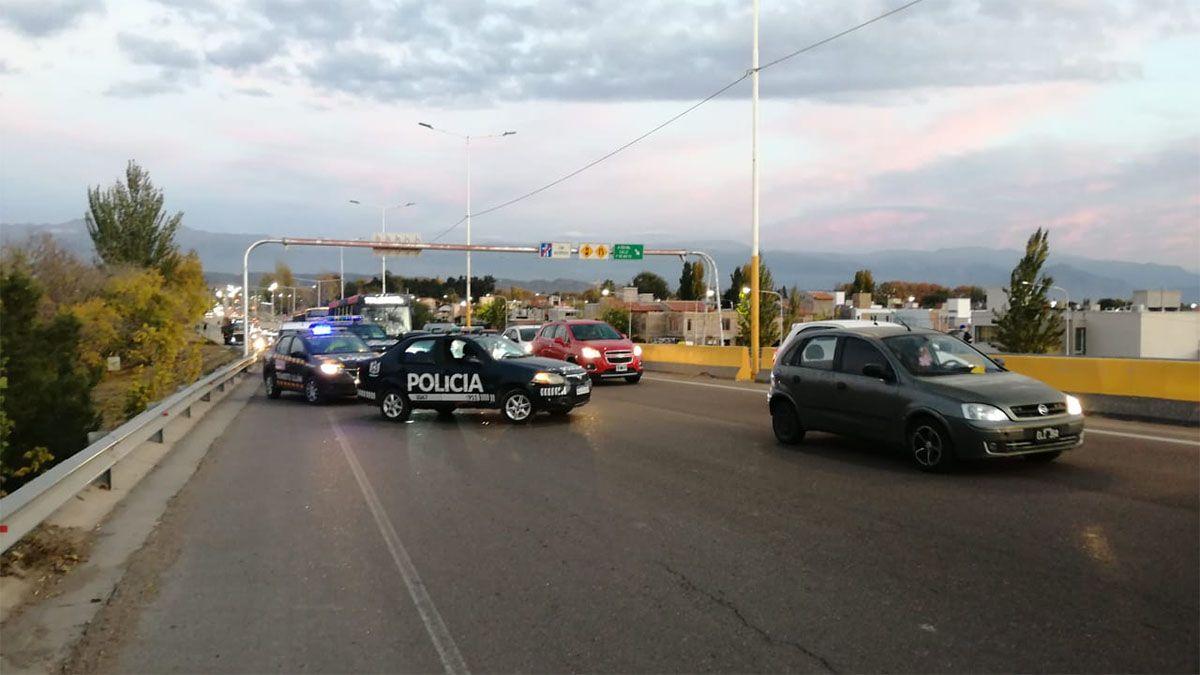 La Policía y Tránsito de Luján regulan el tránsito