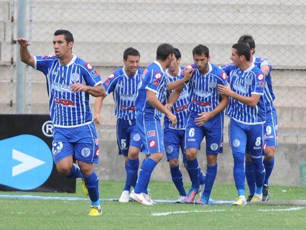 El íntimo festejo de los jugadores de Godoy Cruz