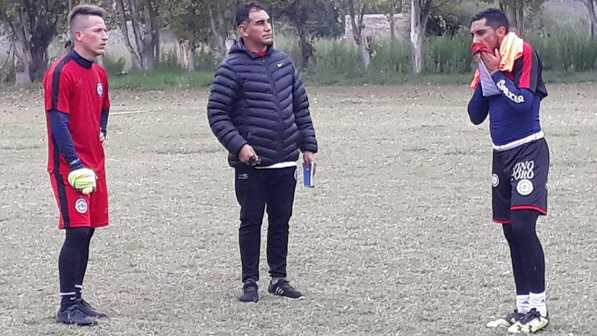 El último club que dirigió Darío Alaniz en Mendoza fue FADEP.