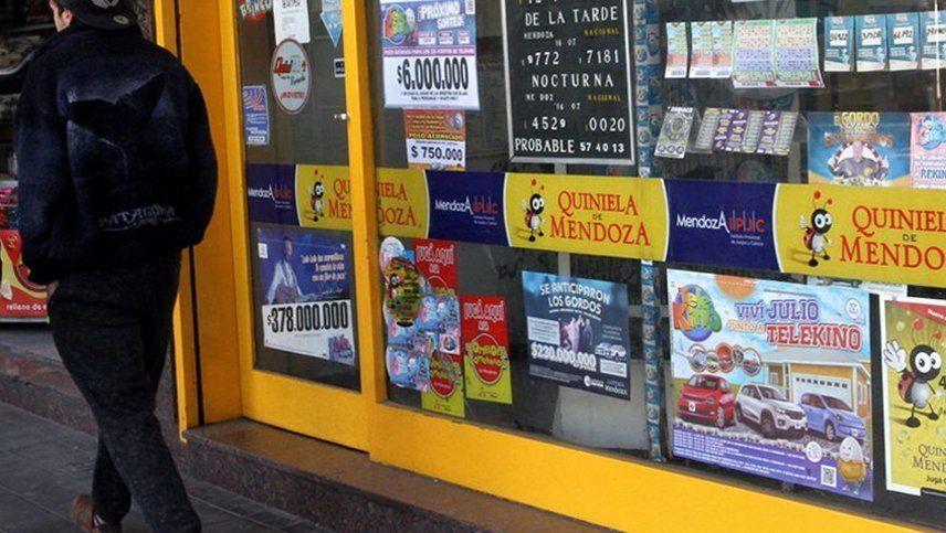 Coronavirus en Mendoza: las agencias de quiniela pueden abrir para cobrar servicios e impuestos