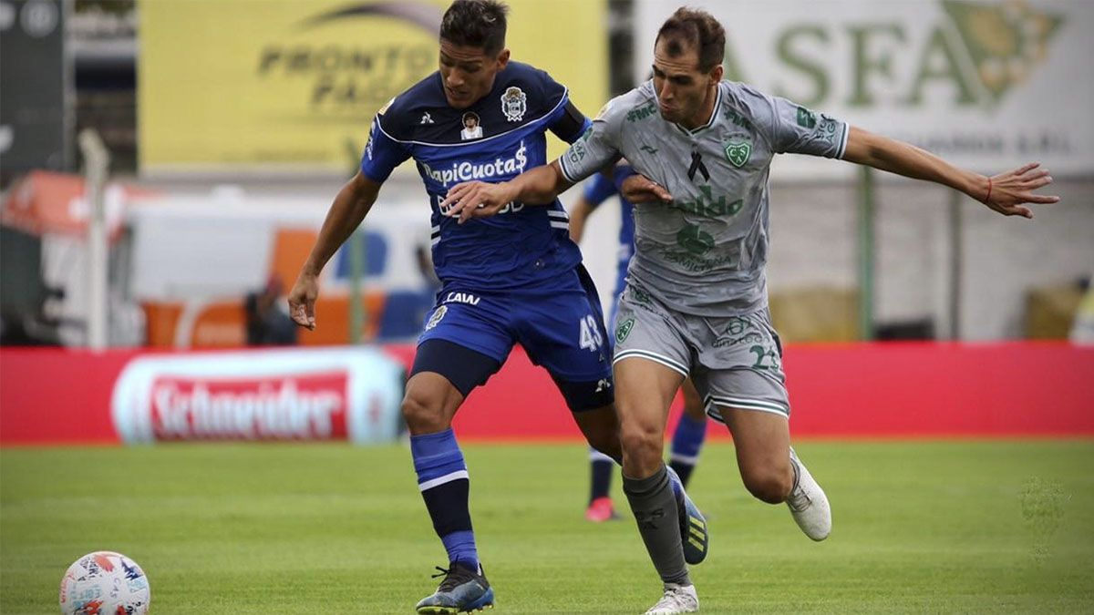 Gimnasia La Plata empató con Sarmiento y quedó cerca de la eliminación