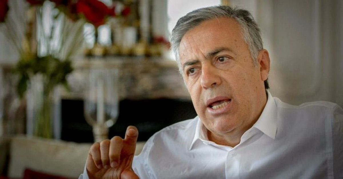 Alfredo Cornejo estuvo reunido con el diputado Menna en el Interbloque
