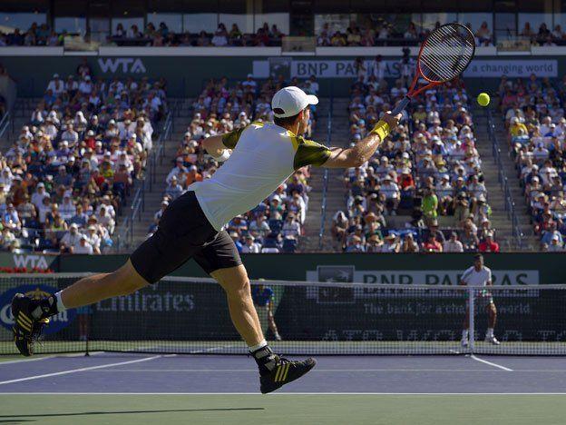 Del Potro venció a Murray y es semifinalista en Indian Wells
