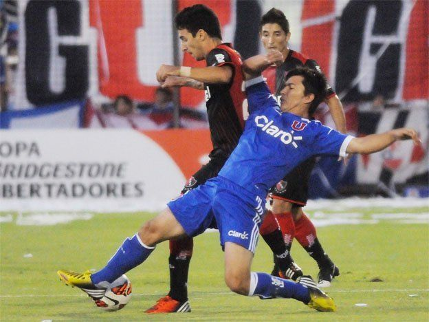 Copa Libertadores: Newell´s perdió con la U de Chile en Rosario