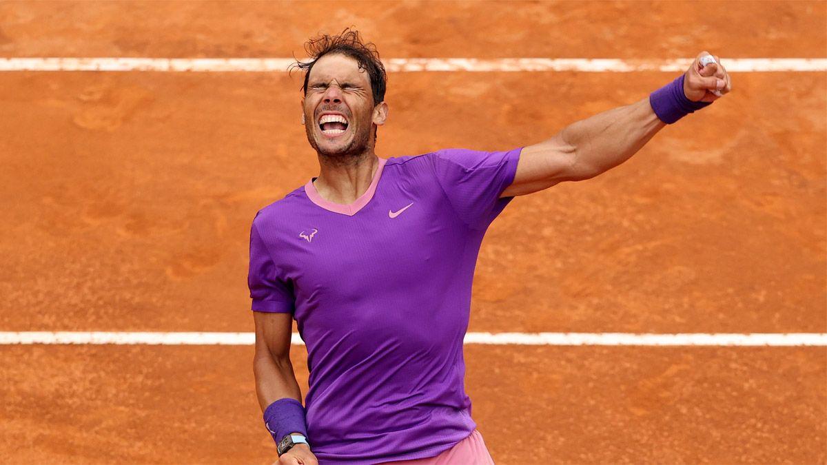 Nadal venció a Djokovic y se coronó por décima vez en Roma