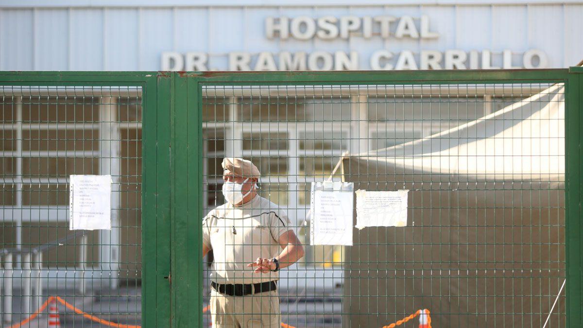 Las víctimas fueron tralsadadas al Hospital Carrillo de Las Heras.