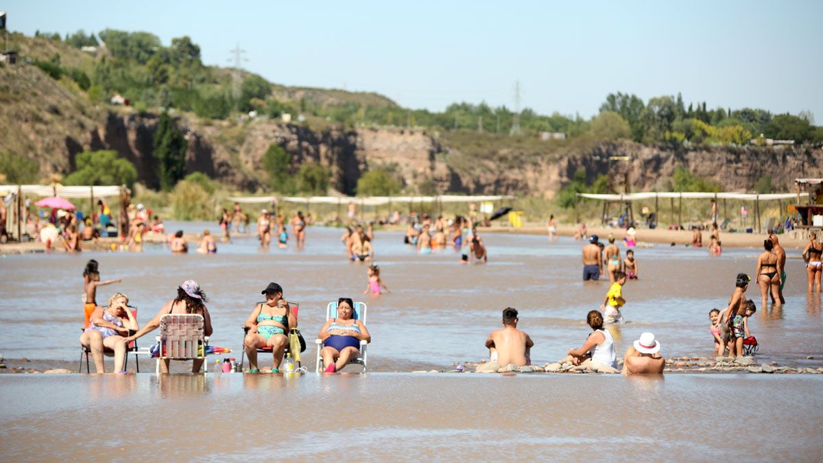 La Playita de Luján tiene una capacidad para 1.500 personas.