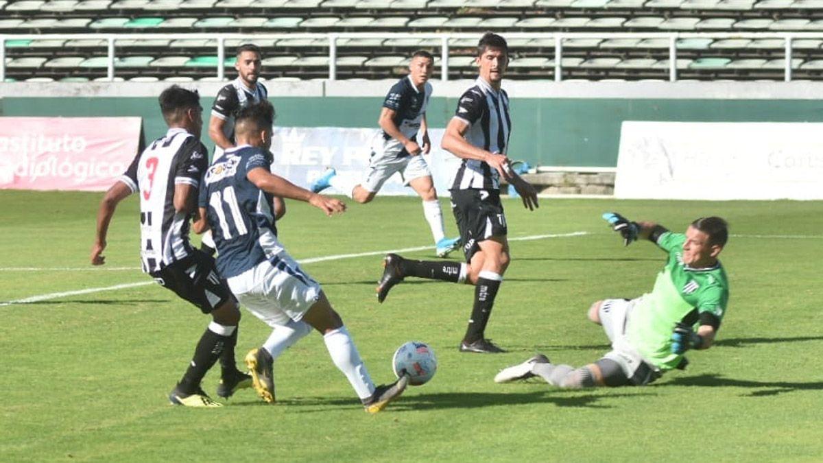 Gimnasia consiguió un sufrido triunfo ante Alvarado, en Mar del Plata