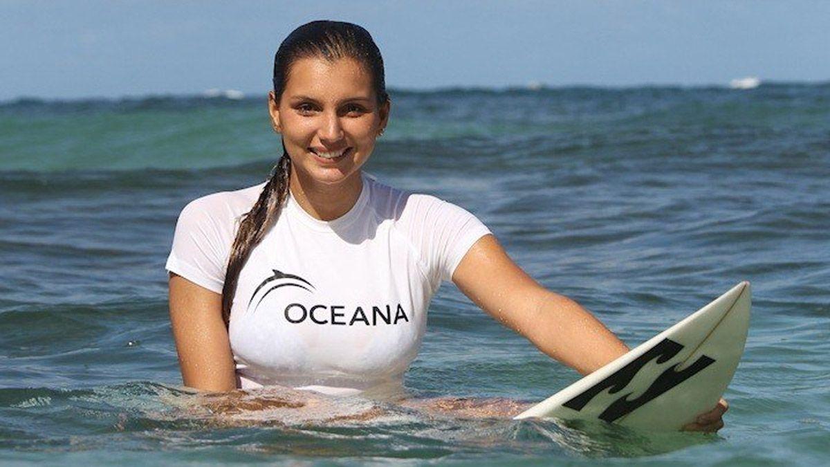Maya Gabeira batió el récord de la mayor ola jamás surfeada