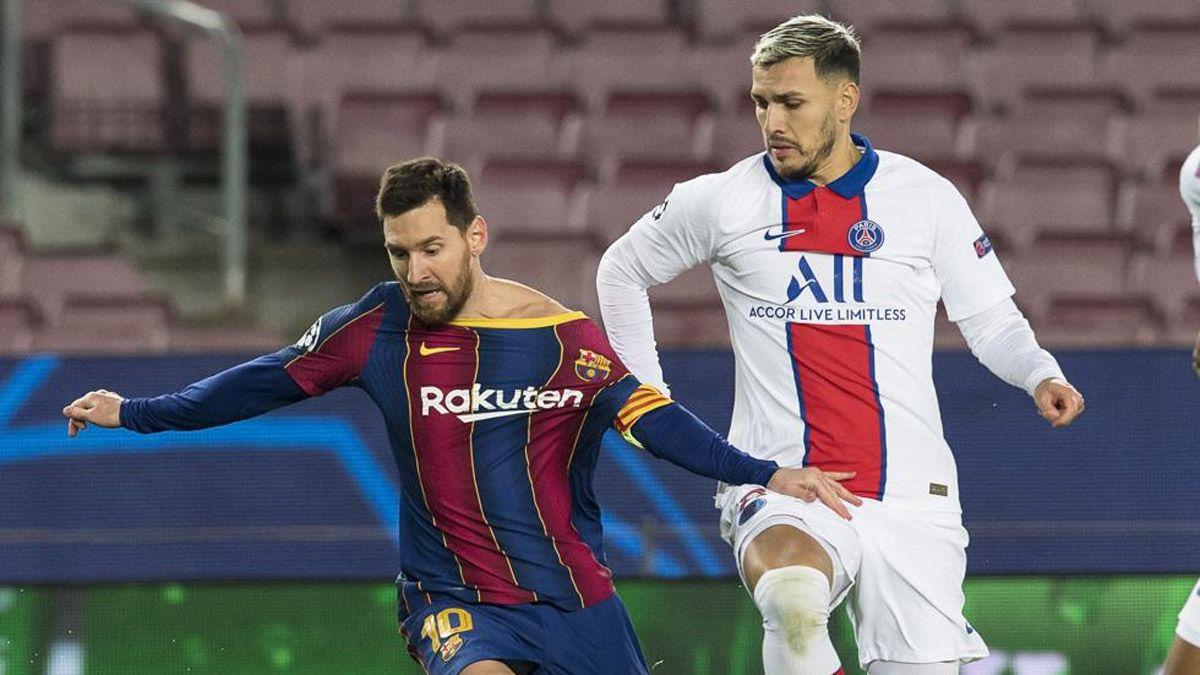 Paredes recordó el encontronazo que tuvo con Messi