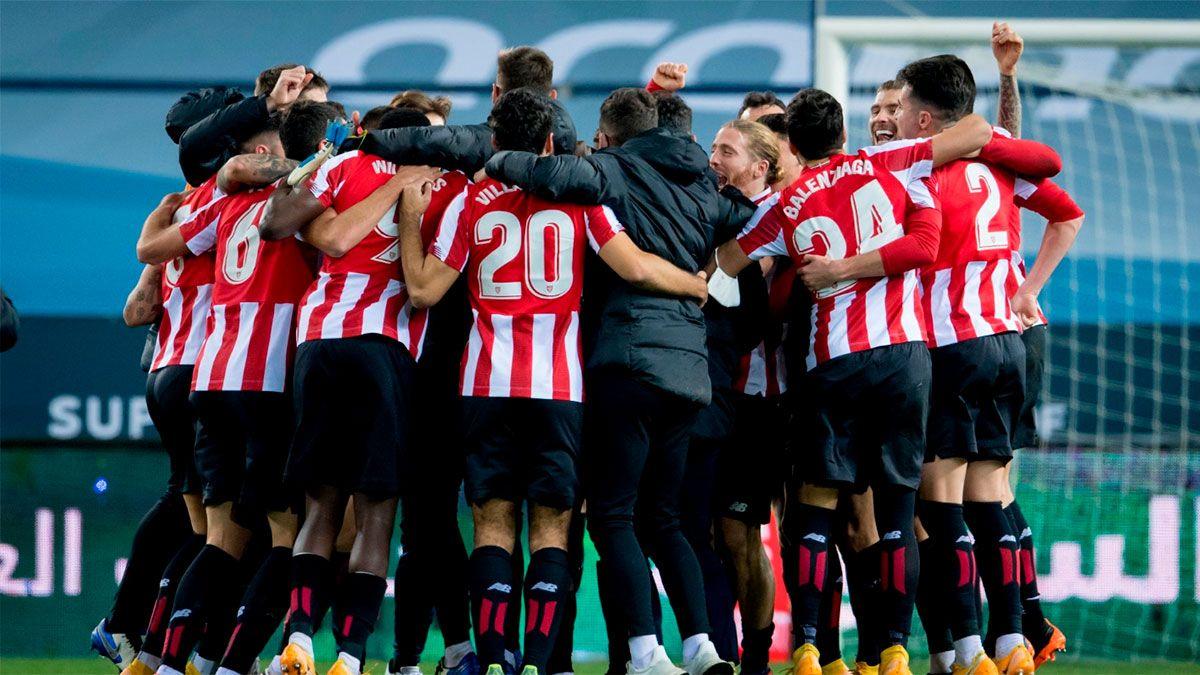 Athletic de Bilbao venció al Real Madrid y jugará la final