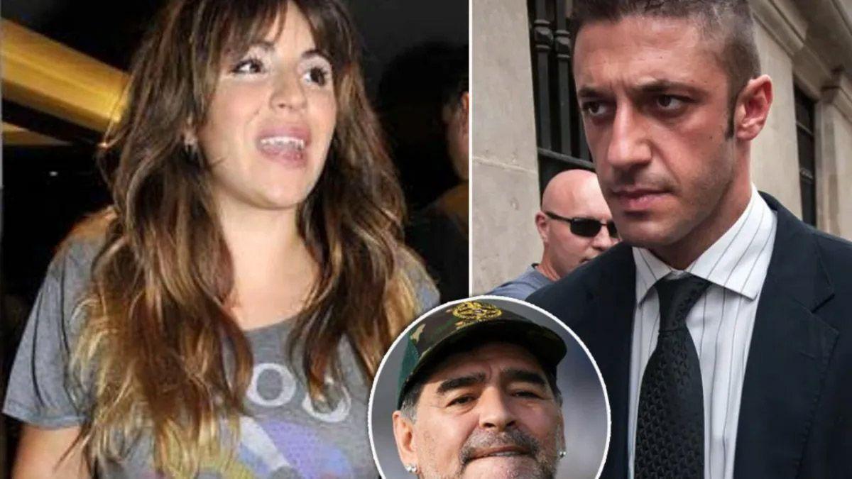 El audio que Matías Morla le mandó a Gianinna Maradona