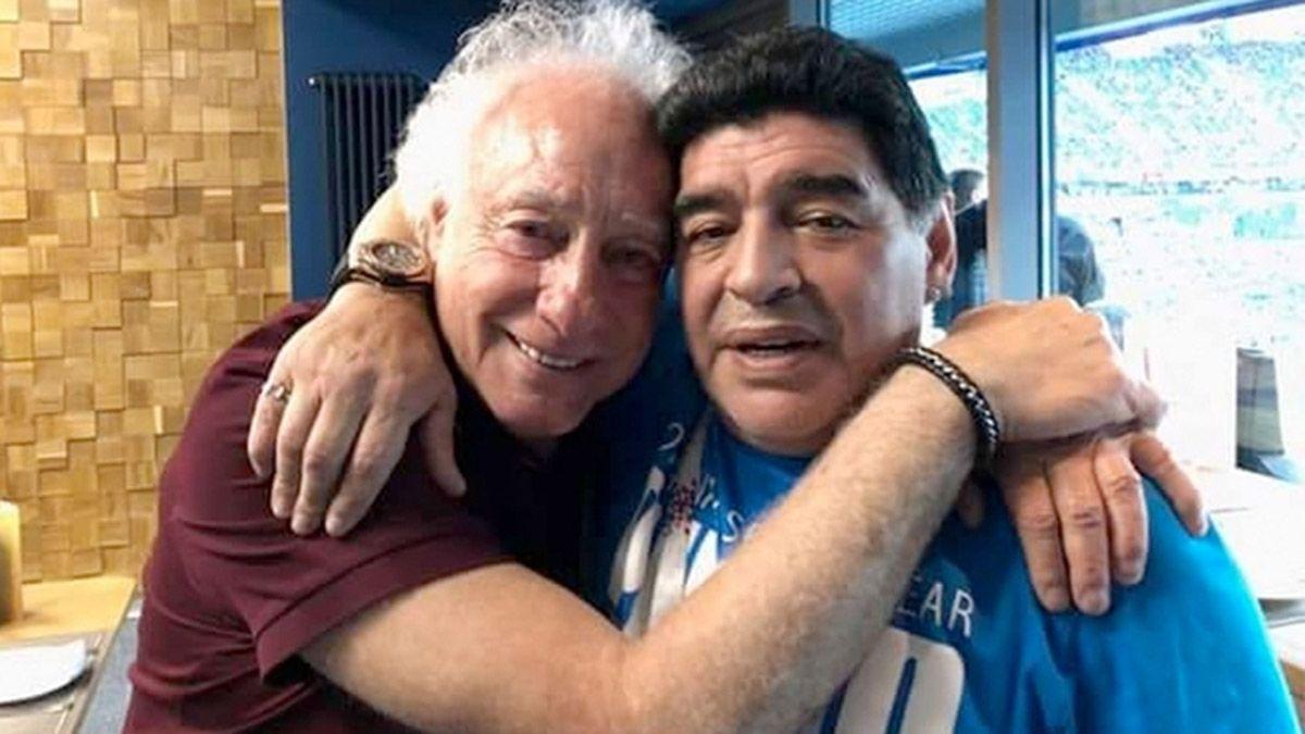 Coppola se enteró en vivo de la muerte de Maradona