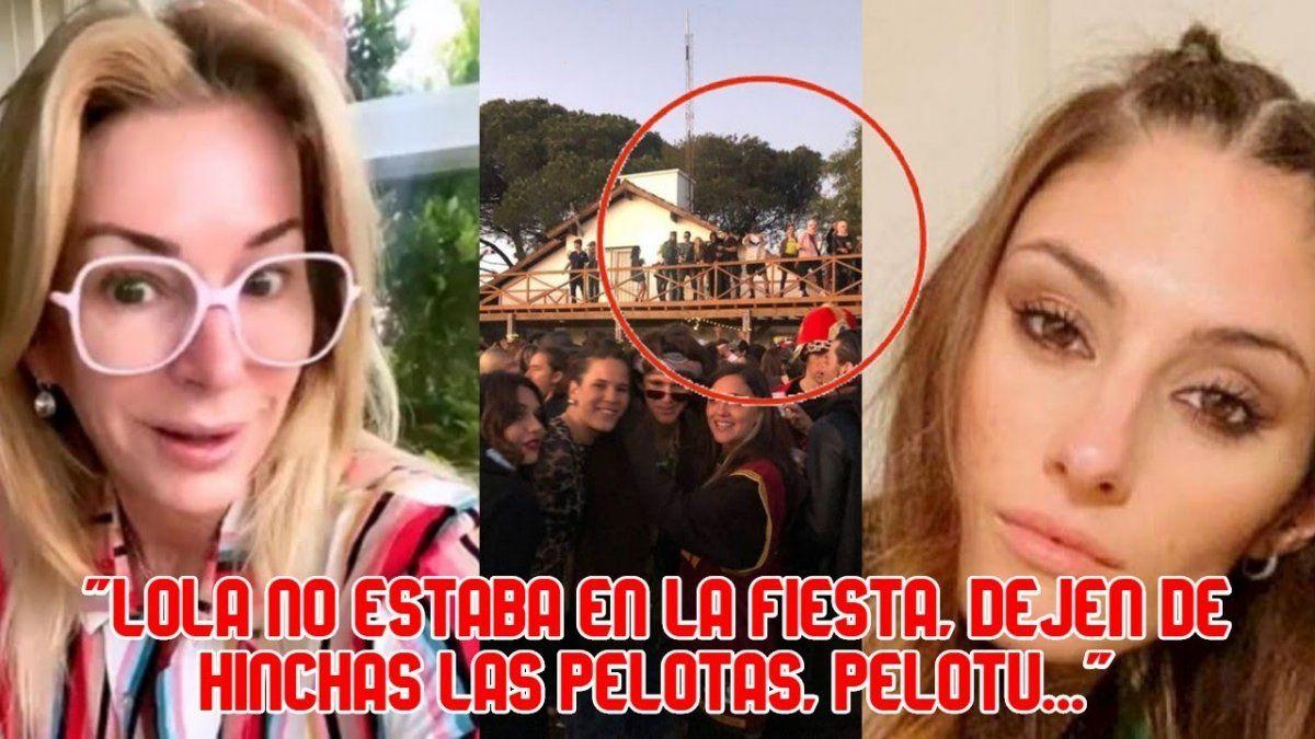 Yanina Latorre dio su versión de la supuesta foto de Lola Latorre en la ruta a la fiesta clandestina