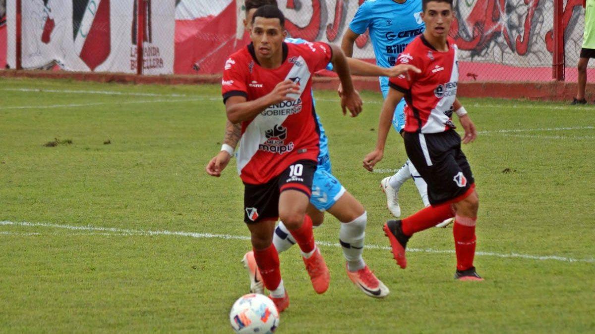 El Cruzado cayó en su debut como local ante Temperley. (Fotos gentileza Prensa Deportivo Maipú).