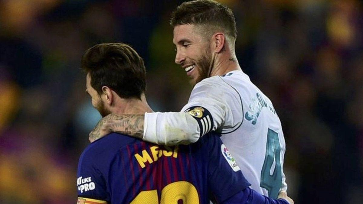 Sergio Ramos le hizo un pedido especial a Lionel Messi
