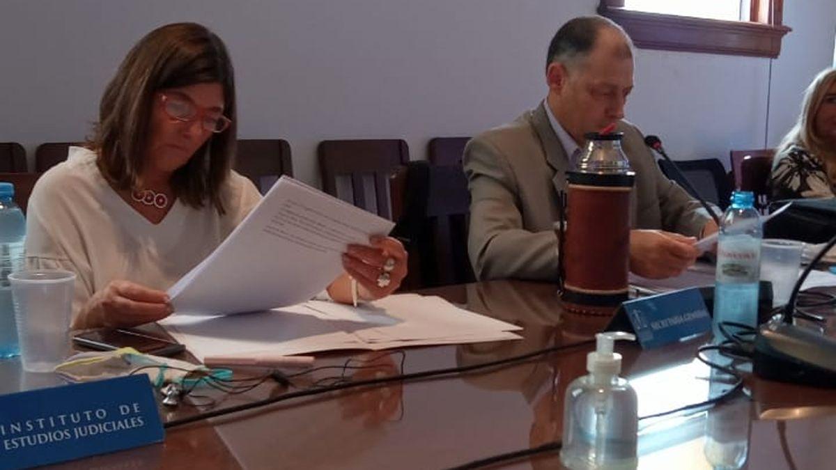 La jueza mendocina Silvina Furlotti Moretti en el cónclave de la FAM.