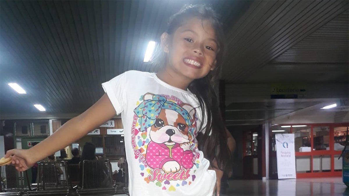 Evangelina Quiroga tenía 7 años