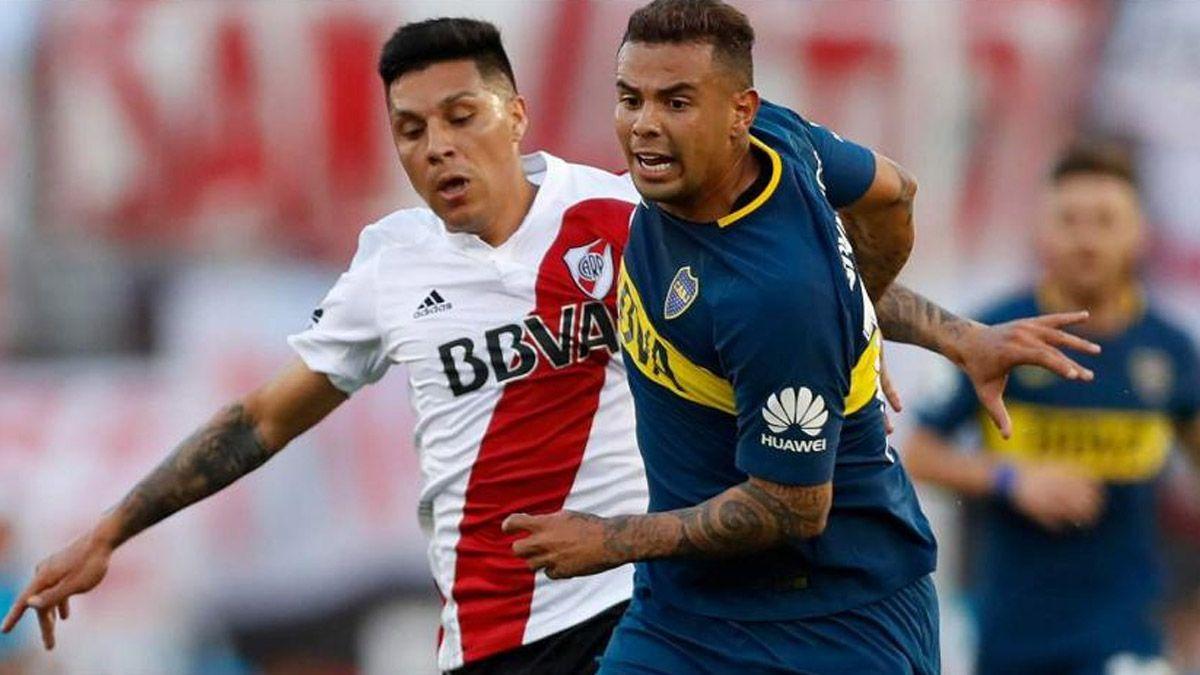 Cardona se refirió a una posible final entre Boca y River
