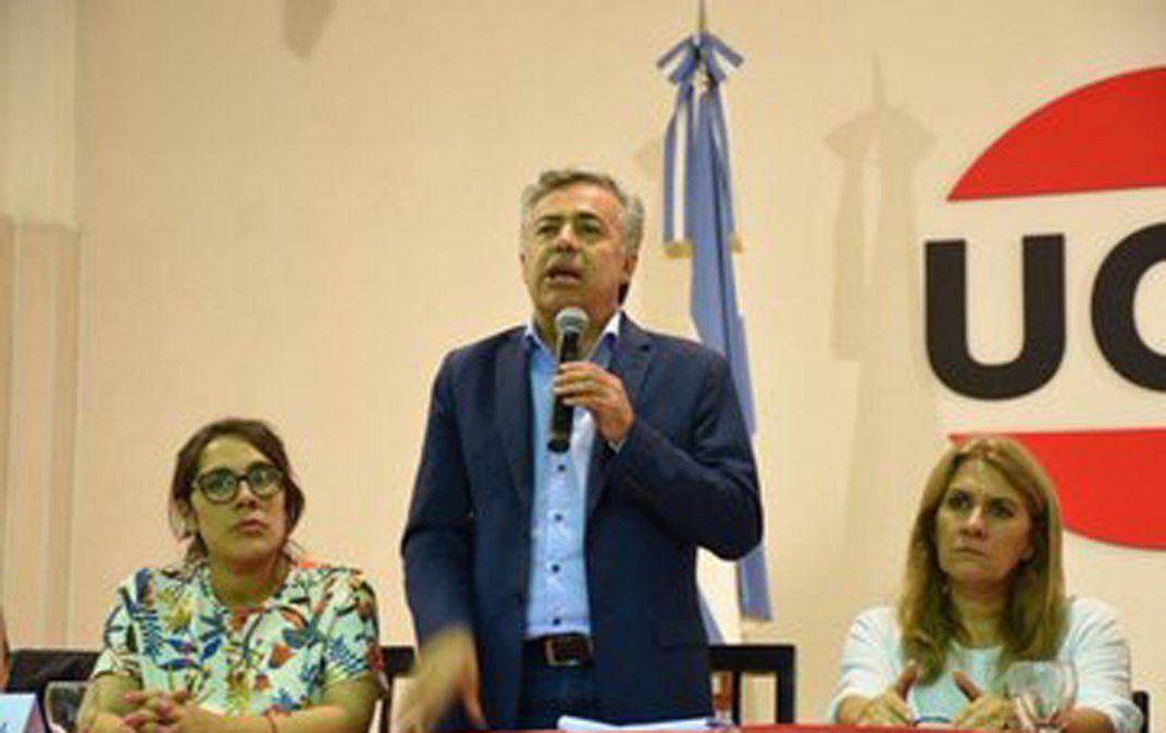 Alberto Fernández fue criticado otra vez por Alfredo Cornejo