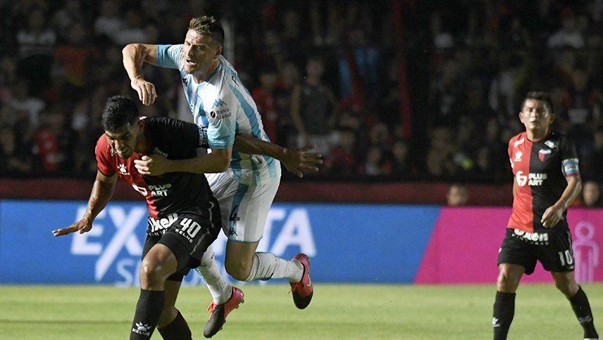 Racing ganaba con un golazo de Zaracho, pero Colón se lo empató