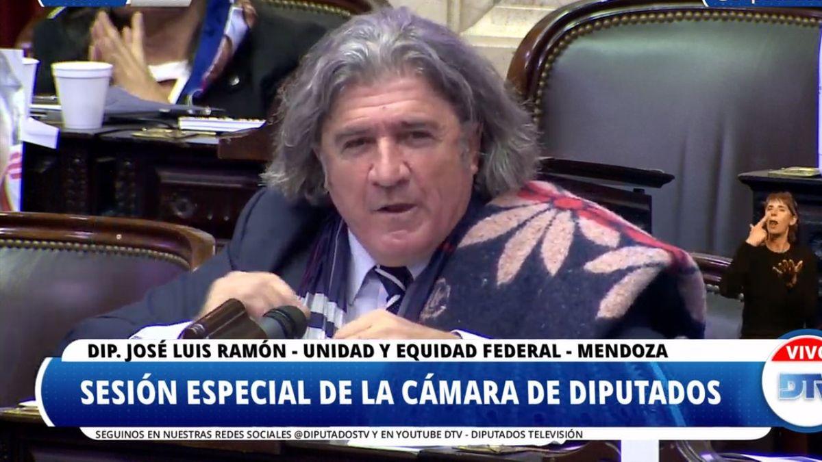 José Luis Ramón tuvo un gran protagonismo en el proyecto de ley de zonas frías.