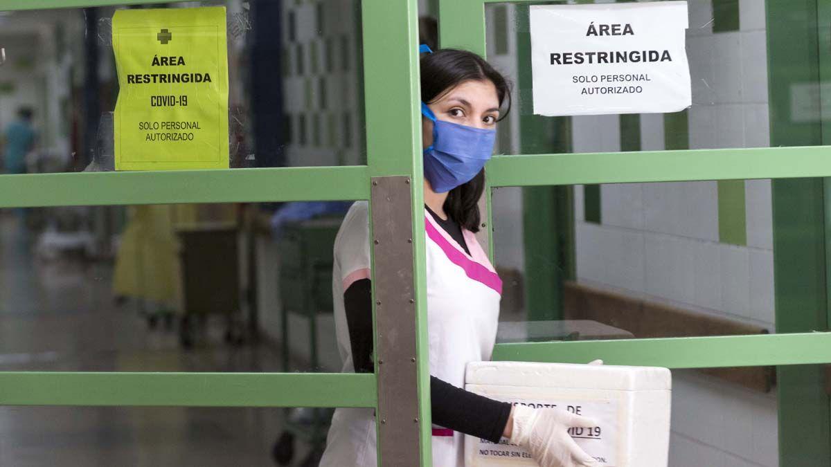 Medicos y enfermeros del sistema sanitario