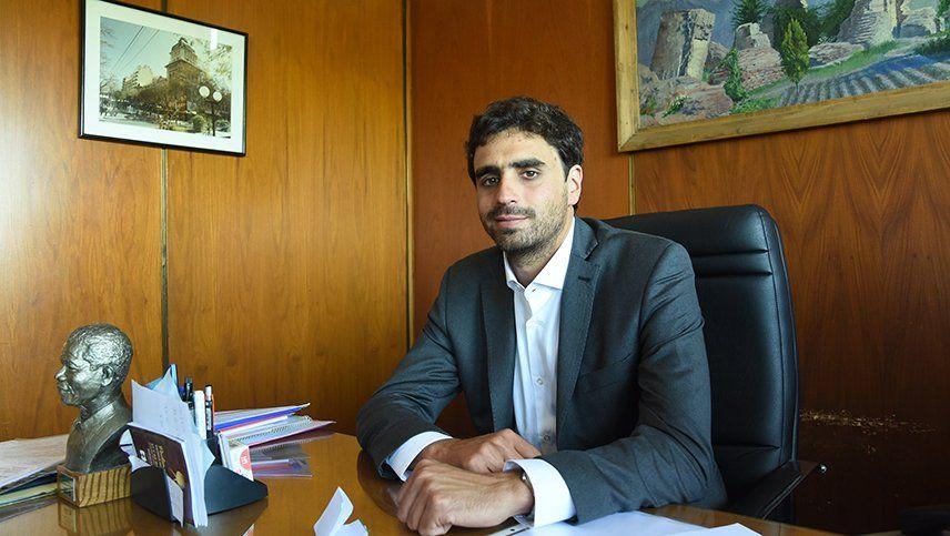 El secretario de Servicios Públicos